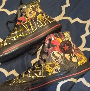 Converse The Dark Knight Rises Bane Shoes